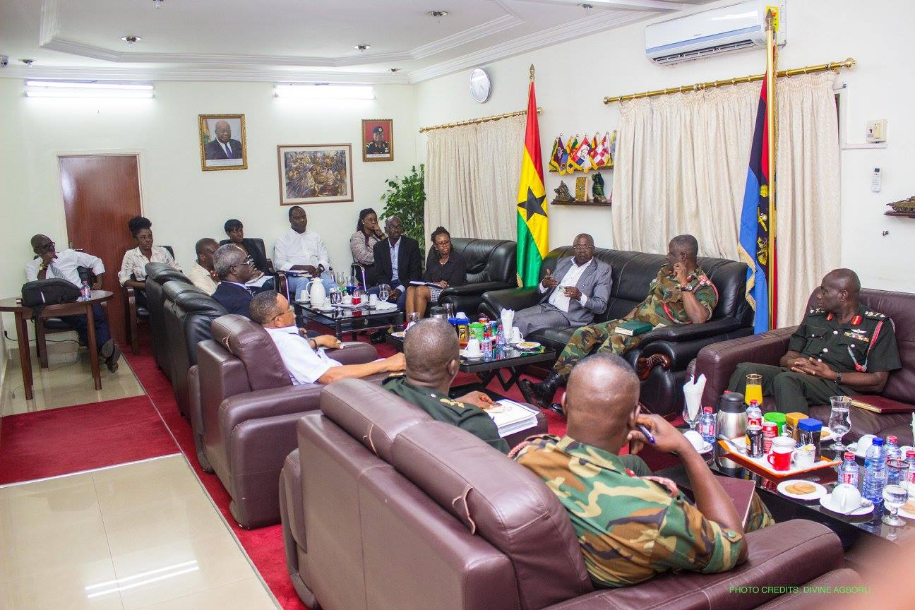 NIA Pays Courtesy Call on Chief of Defence Staff 8th August, 2017