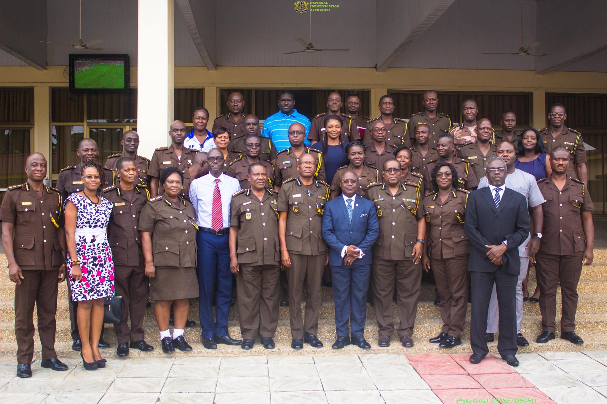 NIA Pays Courtesy Call on Ghana Prisons Service — in Accra, Ghana. 8th August, 2017